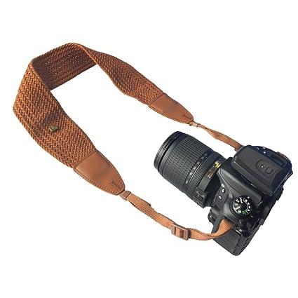 Delleu - Correa práctica para cámara de Fotos réflex Simple para ...