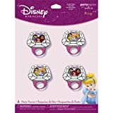 Disney Fairy Tale Princesses Rings 4 pc