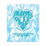 BIGBANG - 2012 BIGBANG Live Concert CD: ALIVE tour in SEOUL [CD + Photo Booklet] + Extra Gift Photocard