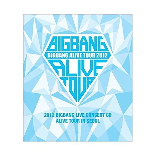 BIGBANG - 2012 BIGBANG Live Concert CD: ALIVE tour in SEOUL [CD + Photo Booklet] + Extra Gift Photocard
