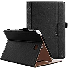 ProCase Galaxy Tab A 8.0 Case ( 2015 Old Model ) - Standing Cover Folio Case for 2015 Galaxy Tab A Tablet (8.0 inch, SM-T350 P350) -Black