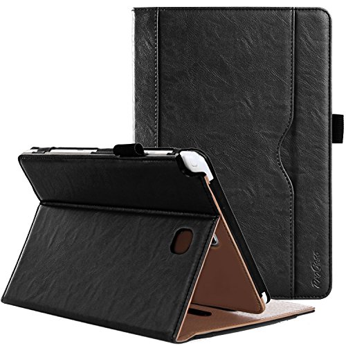 ProCase Samsung Galaxy Tab A 8.0 Case - Standing Cover Folio Case for 2015 Galaxy Tab A Tablet (8.0 inch, SM-T350 P350), with Multiple Viewing angles, auto Sleep/Wake, Document Card Pocket (Black)