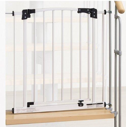IMPAG ® Treppenschutzgitter Swing Für Geländer | Inkl. 2 Y Adapter Passend  Für 73cm   142cm | Höhe 77cm | Ohne Bohren | 4 Farben | Einfache Montage ...