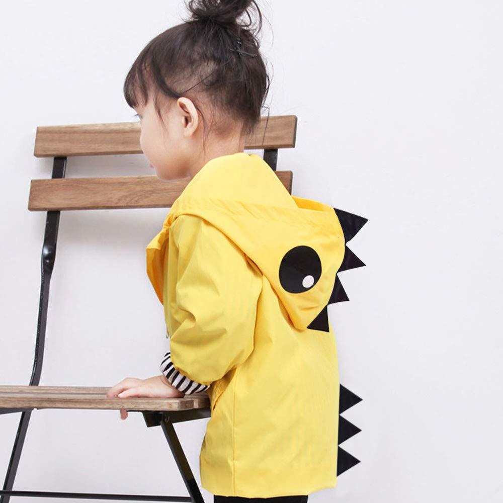 Zipper Jacket Girl Baby Boy Cartoon Animal Hooded Clothes Coat
