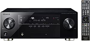 Pioneer VSX-1021-K 7.1 Home Theater Receiver, Glossy Black (Discontinued by Manufacturer)