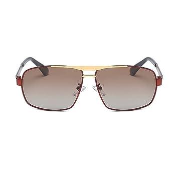 Aoligei Doppel-Farbe Galvanik Herren Brille polarisierende Sonnenbrille fahren Fahrer Spiegel Sonnenbrille O7VvOkM