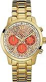 GUESS Damen-Armbanduhr Sunrise Analog Quarz Edelstahl W0330L11