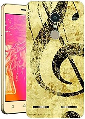 Gogo Lenovo K6 Power Muzik Notalari Baskili Silikon Amazon Com Tr