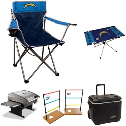 San Diego Chargers Chair: Los Angeles Chargers Folding Chair, Chargers Folding Chair