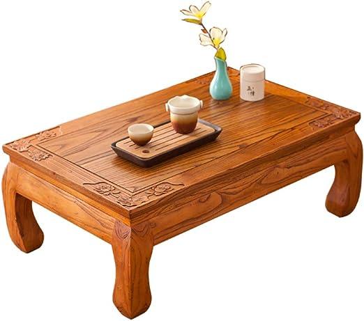 Mesa de centro FFF8 japonesa con diseño de tatami, mesa de café ...