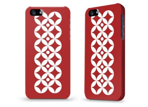 """Hülle / Case / Cover für iPhone 5 und 5s - """"Kreise"""""""