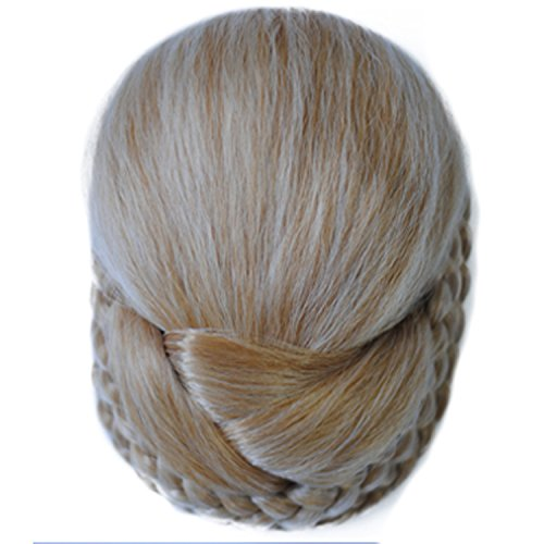 [Bud bouffant wig volume the volume button for a classic chignon letting chignon Europe fully hand-woven high temperature wire] (Red Bouffant Wig)