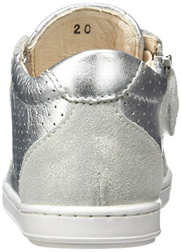Shoopom Bouba Zip Box - Primeros Pasos de Otra Piel Bebé-Niños Plata (Silver)