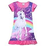 Best  - iiniim Kids Girls Short Sleeve Unicorn Rainbow Princess Review