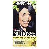 Garnier Nutrisse Nourishing Color Creme, 22 Intense Blue Black (Packaging May Vary)