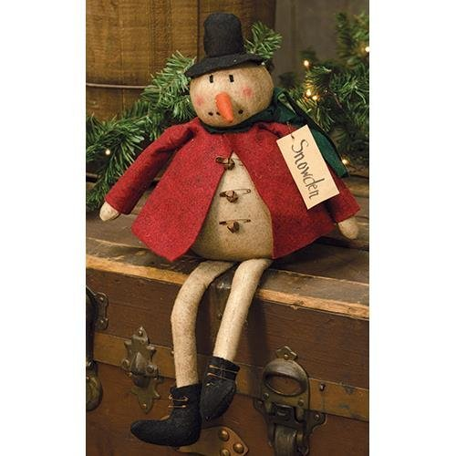 Heart of America Snowden Snowman Doll