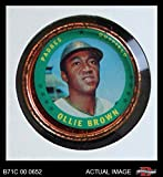 1971 Topps Coins # 133 Ollie Brown San Diego Padres (Baseball Card) Dean's Cards 4 - VG/EX Padres
