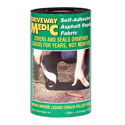 Asphalt Driveway Repair - Cofair 609MD Asphalt Repair Fabric, Black