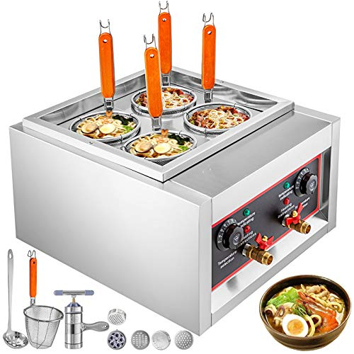 VBENLEM Electric Pasta Cooking Machine 4 Holes with