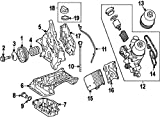 Mercedes-Benz 007 603 01 41 06, Engine Oil Drain Plug Gasket