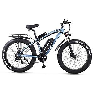 51S9nWjEODL. SS300 GUNAI Bicicletta Elettrica Pieghevole Bici da Montagna 48V 1000W Ebike con Batteria al Litio da 26Velocità Sospensione…