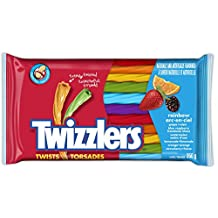Twizzlers Rainbow Twists, 350 Gram