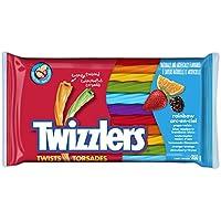 TWIZZLERS Licorice Candy, Rainbow Twists, 350 Gram