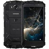 DOOGEE S60 - 5,2 Zoll FHD Wasserdicht / Shockproof / Staubdicht 4G Smartphone, 5580mAh Batterie 12V2A Schnelle Ladung (drahtlose Ladung unterstützt), Helio P25 2.5GHz Octa Core 6GB 64GB, 21.0MP Kamera NFC GPS Metallrahmen - Schwarz