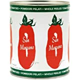 San Marzano Whole Peeled Tomatoes, 28 Ounce (Pack of 6)