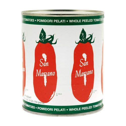 (San Marzano Whole Peeled Tomatoes, 28 Ounce (Pack of 6))