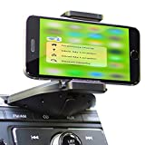 Teslan Disc Cradle Series CD Car Mount Phone Holder for iPhone and Android Smartphones and Phablets (Disc Mount)