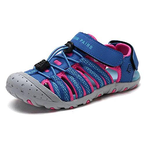 - DREAM PAIRS Boys Girls Little Kid 171111-K Royal Fuchsia Outdoor Summer Sandals Size 2 M US Little Kid