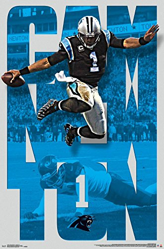 trends-international-carolina-panthers-cam-newton-wall-posters-22-by-34