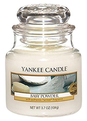 Yankee Candle Candela Piccolo Vaso, Talco per Bambini 1122152E