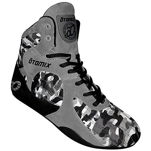 OTOMIX Stingray Fitness Boots, Bodybuilding Shoes Grey Camo