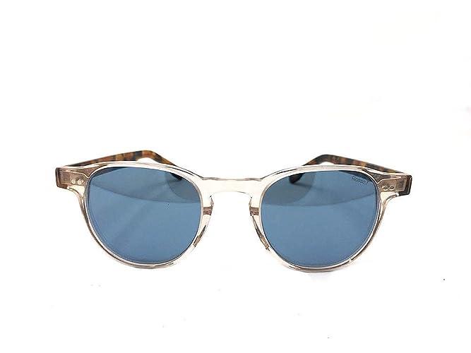 Nuovi Prodotti 5db26 10aa4 Occhiali da sole con lenti blu a specchio, montatura colore ...
