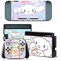 Vinyl Screen Skin Sticker Laurel Dog Skins Protector Stickers for Switch NS Console + Controller + Stand Sticker