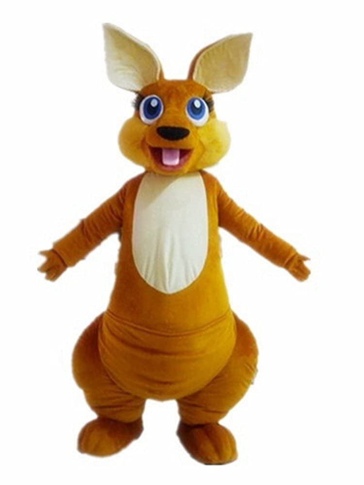 42439194c Amazon.com: Cute Kangaroo Mascot Costume for Adults to Wear Custom Made  Mascots for Theme Park: Clothing