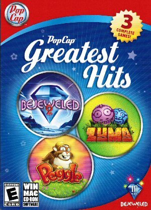 PopCap Greatest Hits - Bejeweled 2, Peggle, Zuma - PC/Mac
