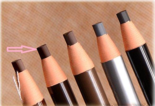 FYUE Waterproof Microblading Peel Off Pull Cord Eyebrow Pencil (Brown)