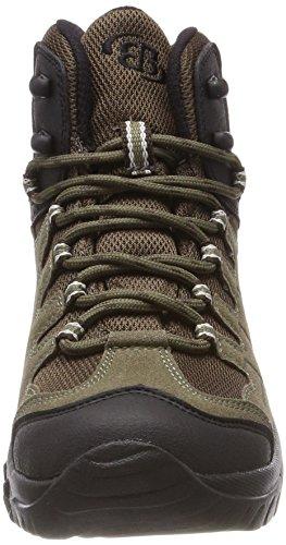 Grande Hommes De Chaussures De Randonnée oliv Hauteur Verts Braun Canada Bruetting xtF0Tqqwd