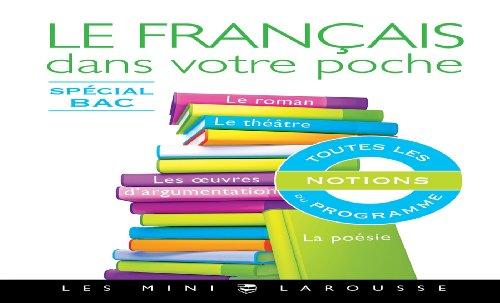 Le français dans votre poche - Spécial bac (Les mini Larousse) (French Edition