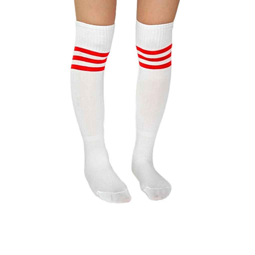 LUFA Rodilla para mujer para hombre suaves calcetines de fútbol Béisbol Durante