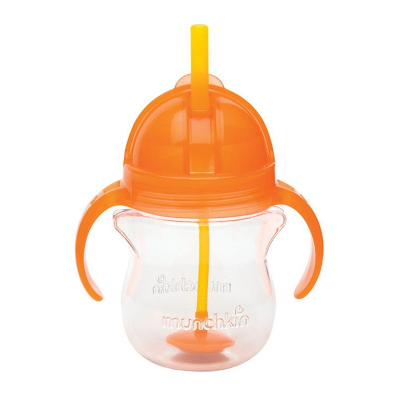 Munchkin Click Lock Weighted Flexi-Straw Cup (Colors may vary) 24188