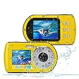 Best Waterproof Cameras - Waterproof Camera,Camking 24MP Full HD 1080P Underwater Camera Review