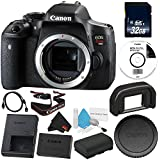 6Ave Canon EOS Rebel T6i DSLR Camera (Body Only) 0591C001 Starter Bundle - International Version (No Warranty)