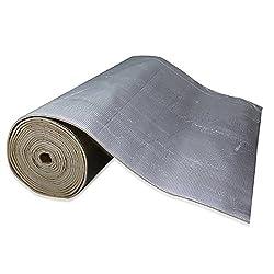 shinehome Heat Shield Sound Deadener Deadening Heat Insulation Mat Noise Insulation and Dampening Mat Heat Proof Mat 72 x 40 6mm/236mil