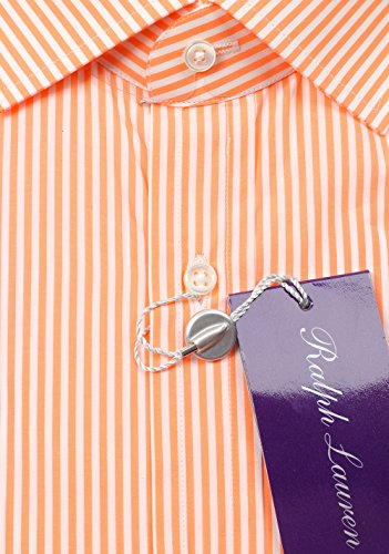CL - Ralph Lauren Purple Label Orange Striped Shirt Size 42 / 16.5 U.S.