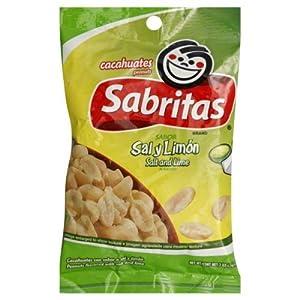 Gamesa Salt And Lime Peanuts, 7 oz, - Pack of 12