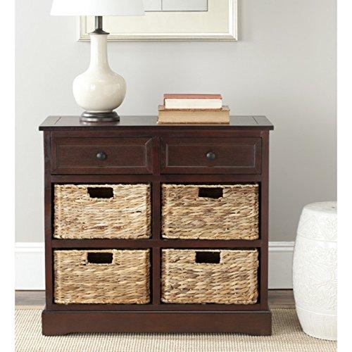 Safavieh Home Collection Herman Dark Cherry Storage Unit